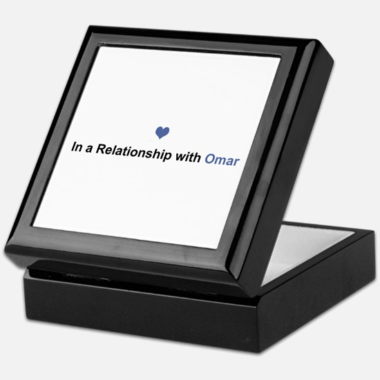 Omar Relationship Keepsake Box