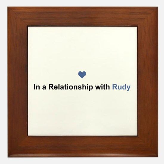 Rudy Relationship Framed Tile