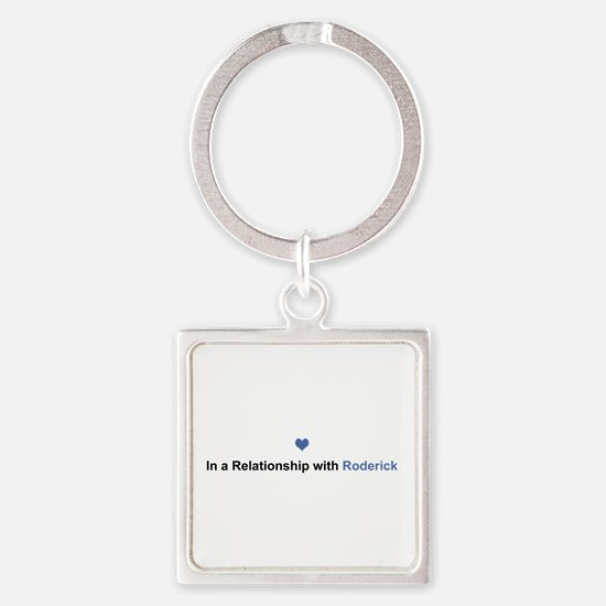 Roderick Relationship Square Keychain