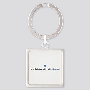 Ronald Relationship Square Keychain