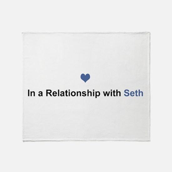 Seth Relationship Throw Blanket