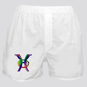 GLBT Pisces & Taurus Boxer Shorts