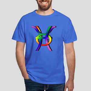 GLBT Pisces & Taurus Dark T-Shirt