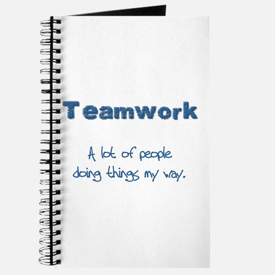 Teamwork - Blue Journal