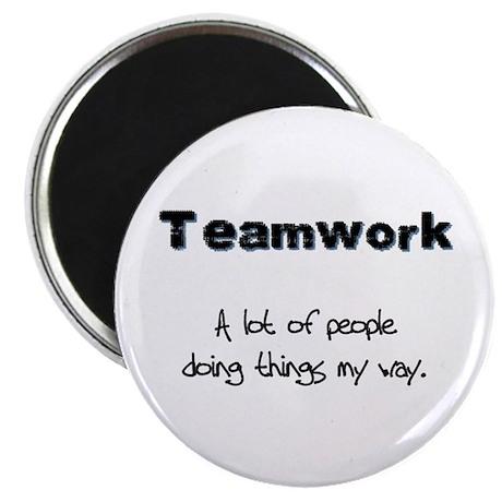 Teamwork - Black Magnet