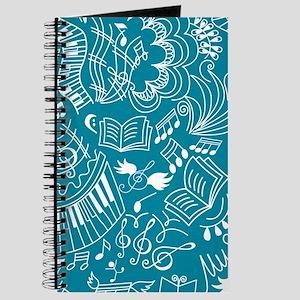 Music Doodles Choir Gift Journal