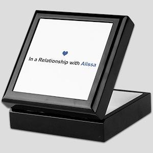 Alissa Relationship Keepsake Box