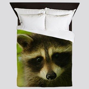 raccoon Queen Duvet