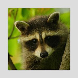raccoon Queen Duvet