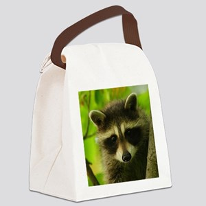 raccoon Canvas Lunch Bag