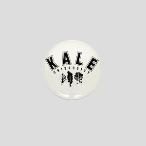 Kale University Black Mini Button