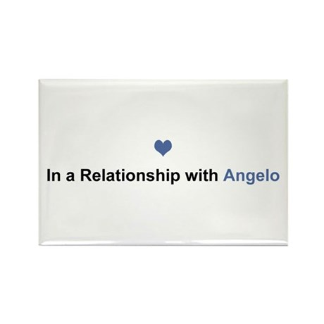 Angelo Relationship Rectangle Magnet 10 Pack