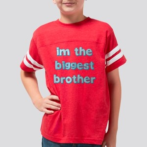 biggestbrotherstripes Youth Football Shirt