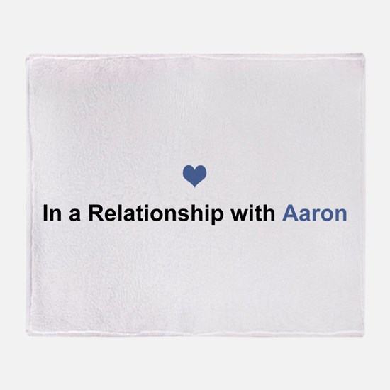Aaron Relationship Throw Blanket