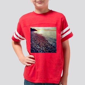 Sunset on the Sound Youth Football Shirt