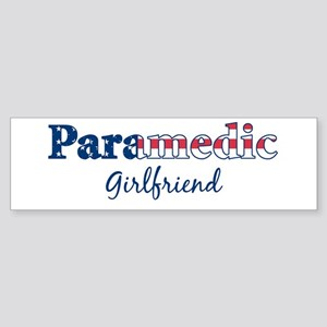 Paramedic Girlfriend Bumper Sticker