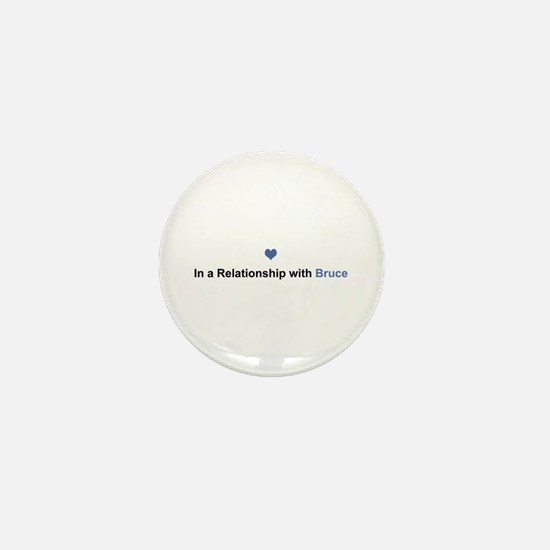 Bruce Relationship Mini Button