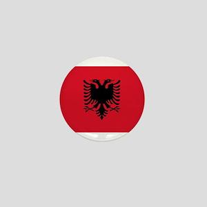 Flag of Albania Mini Button