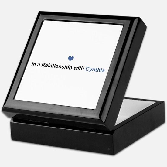 Cynthia Relationship Keepsake Box