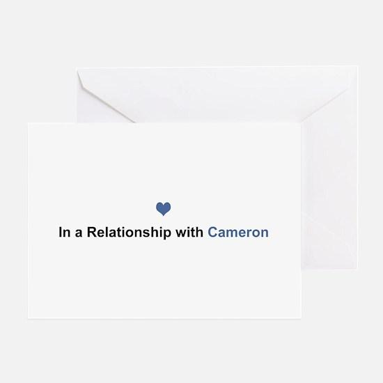 Cameron Relationship Greeting Card