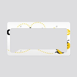 Cousin To Bee License Plate Holder