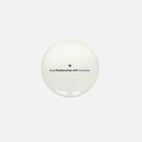 Candace Relationship Mini Button