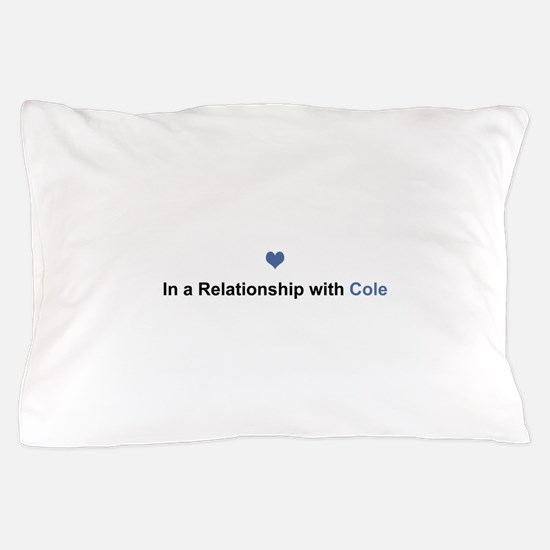 Cole Relationship Pillow Case