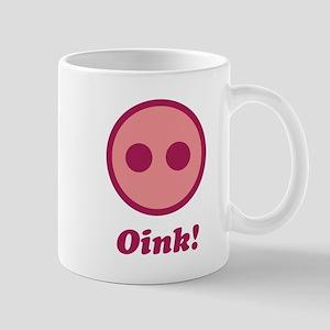 Oink! (Grunt / Pig) Mugs