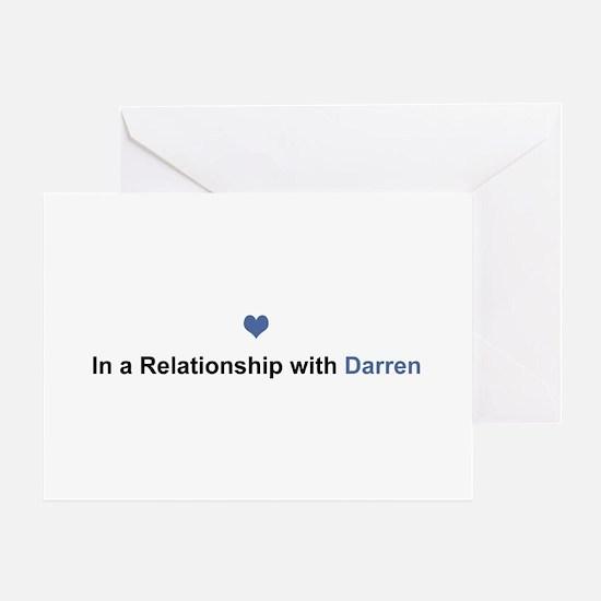 Darren Relationship Greeting Card