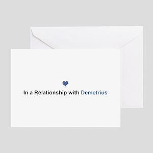 Demetrius Relationship Greeting Card