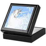 Blue Unicorn Dream Keepsake Box