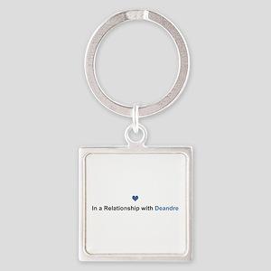 Deandre Relationship Square Keychain