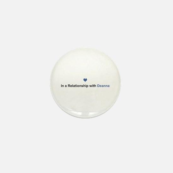 Deanna Relationship Mini Button