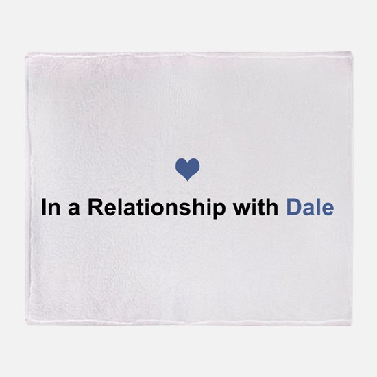 Dale Relationship Throw Blanket