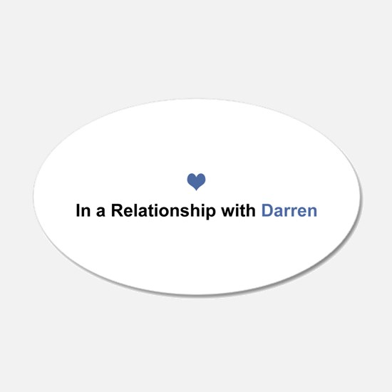 Darren Relationship Wall Decal