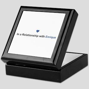 Enrique Relationship Keepsake Box