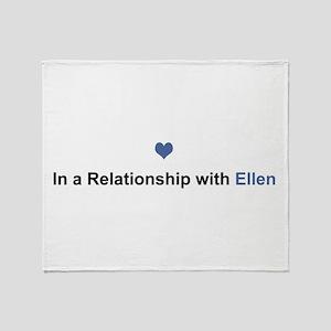 Ellen Relationship Throw Blanket