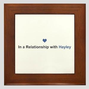Hayley Relationship Framed Tile