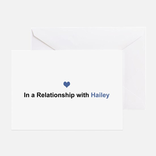Hailey Relationship Greeting Card