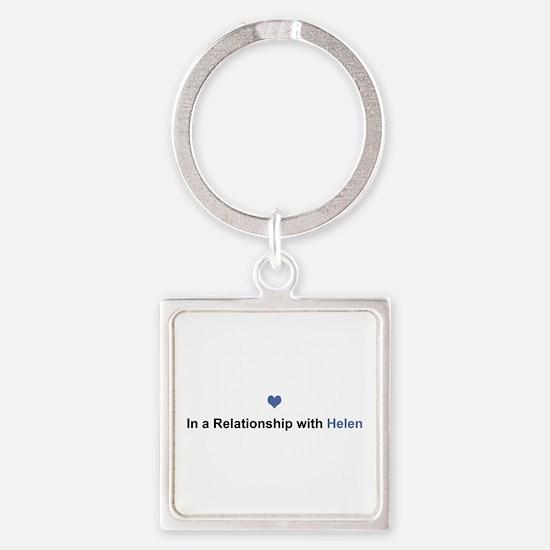 Helen Relationship Square Keychain