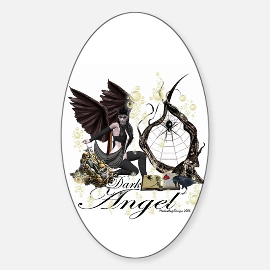 Dark Angel Oval Decal