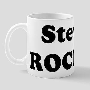 Steve Rocks! Mug
