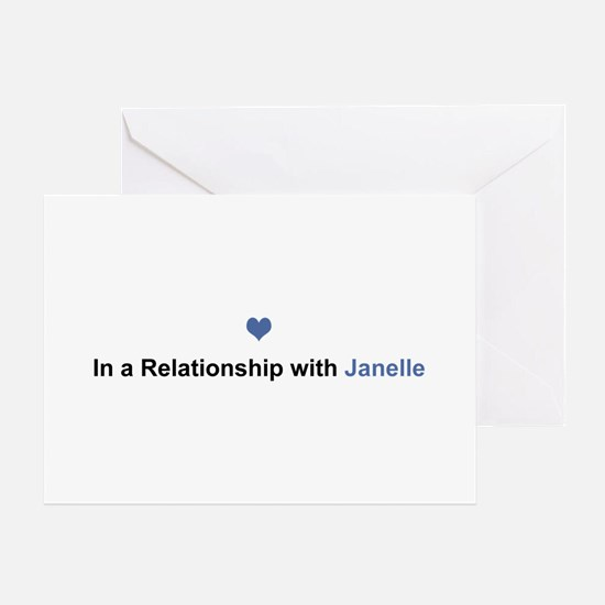 Janelle Relationship Greeting Card