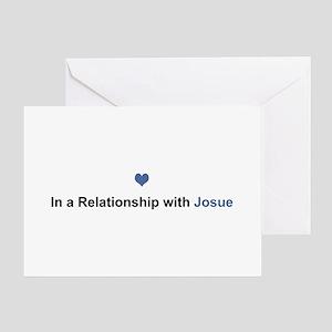 Josue Relationship Greeting Card