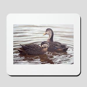 Black Magic Black Ducks Mousepad