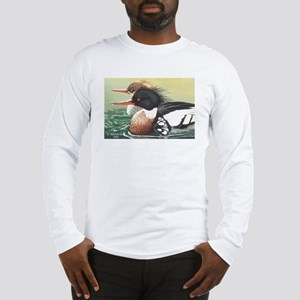 Merganser Ducks Long Sleeve T-Shirt