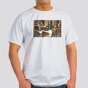 Shoveler Ducks Ash Grey T-Shirt