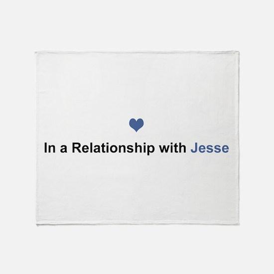 Jesse Relationship Throw Blanket