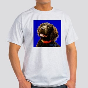 Boykin Spaniel Ash Grey T-Shirt