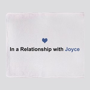 Joyce Relationship Throw Blanket